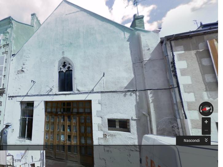 Eglise Saint-Paul. Poitiers
