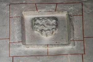 Chaunay, église Saint-Pierre, armorie de Jean Jay