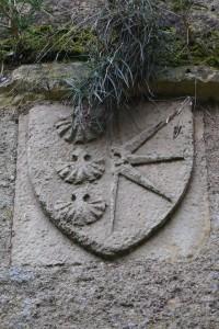 Angles-sur-l'Anglin, château, armoirie 8