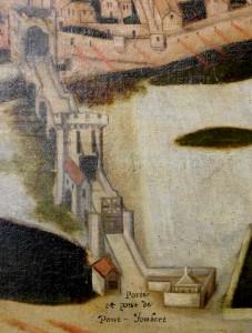 F. Nautré, Le siège de Poitiers par l'amiral Colgny, 1619. Poitiers, Musée Sainte-Croix.