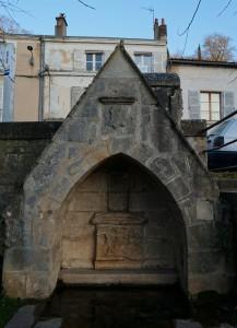 Fontaine du pont Joubert, Poitiers.