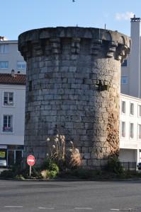 Poitiers, remparts nord, tour du cordier.