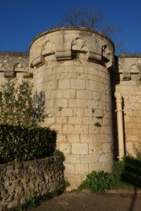 Poitiers, remparts sud, tour Ronde.