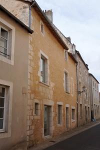 Lussac-les-chateaux, logis des Rochechouart.