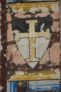 Armoirie de l'Ordre du Temple. Châtellerault, Commanderie d'Auzon, armoirie Templiers, armoirie 5
