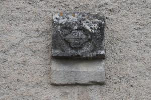 Buxerolles, nouvelle église Saint-Jacques-et-Saint-Philippe, fragment (de clôture d'autel ?) aux armes d'Amboise.