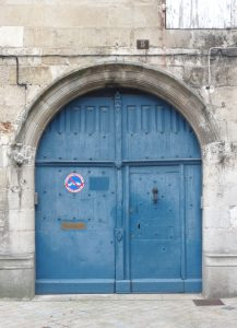 Hôtel particulier, Poitiers, 5 rue gambetta, portail d'entrée.