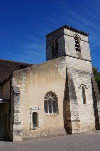 Poitiers, église Saint-Germain.