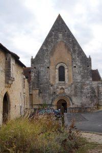 Fontaine-le-Comte, abbaye Notre-Dame, église abbatiale.