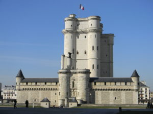 Vincennes, château, le donjon.