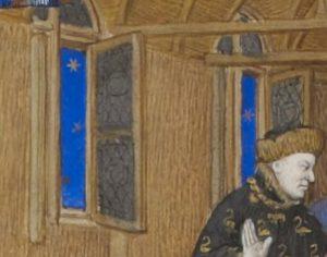 Maitre de Boucicaut, Charles VI rendant justice